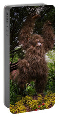 Orangutan Portable Battery Charger by Joan Carroll