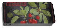 Orchard Fresh Cherries-jp2639 Portable Battery Charger