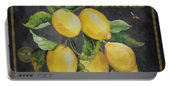 Orchard Fresh Lemons-jp2679 Portable Battery Charger