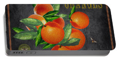 Orchard Fresh Oranges-jp2641 Portable Battery Charger