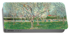 Orchard In Blossom, 1880  Portable Battery Charger