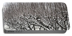 Orchard In Winter Portable Battery Charger
