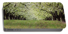Portable Battery Charger featuring the photograph Orchard by Patricia Babbitt