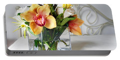 Orchid Bouquet Portable Battery Charger
