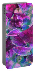 Orchid Splash Portable Battery Charger by Diane Alexander
