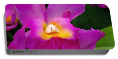 Orchid Variations 1 Portable Battery Charger