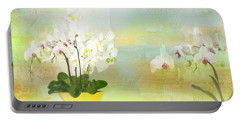 Orchids - Limited Edition 1 Of 10 Portable Battery Charger