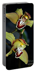 Orchids In The Evening Portable Battery Charger