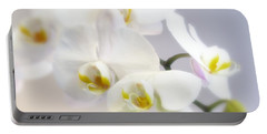 Orchids In The Mist Portable Battery Charger
