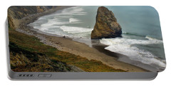 Oregon Coast Portable Battery Charger by Priscilla Burgers