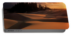 Oregon Dunes Sunset Portable Battery Charger