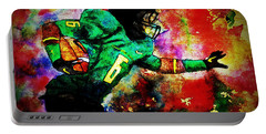 Oregon Football 3 Portable Battery Charger