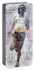 Oregon Running Legend Steve Prefontaine Portable Battery Charger