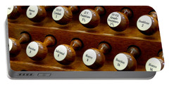 Organ Stop Knobs Portable Battery Charger