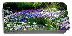 Oriental Ensata Iris Garden Portable Battery Charger