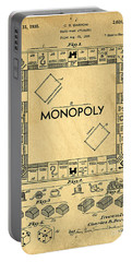 Original Patent For Monopoly Board Game Portable Battery Charger