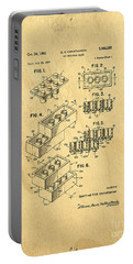 Original Us Patent For Lego Portable Battery Charger