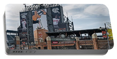 Oriole Park At Camden Yards Portable Battery Charger by Susan Candelario