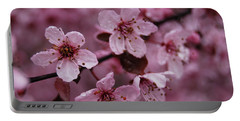 Ornamental Cherry Tree - Blossoms Portable Battery Charger by Jani Freimann