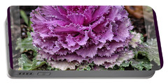 Ornamental Purple - Flower Art Portable Battery Charger