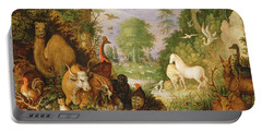 Orpheus Charming The Animals, C.1618 Portable Battery Charger