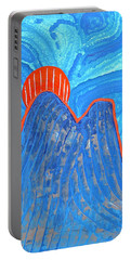 Os Dois Irmaos Original Painting Sold Portable Battery Charger by Sol Luckman