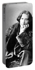 Oscar Wilde In His Favourite Coat 1882 Portable Battery Charger