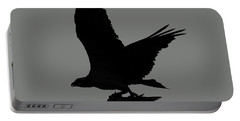 Portable Battery Charger featuring the photograph Osprey With A Fish Photo by Meg Rousher