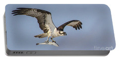 Osprey With Dinner Portable Battery Charger