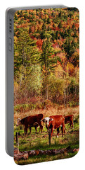 Cow Complaining About Much Portable Battery Charger by Jeff Folger