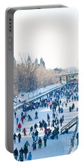 Ottawa Rideau Canal Portable Battery Charger by Cheryl Baxter