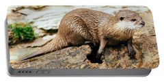Otter On A Tree Portable Battery Charger