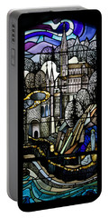Our Lady Of Lourdes France Portable Battery Charger