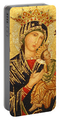 Our Lady Of Perpetual Help  Portable Battery Charger