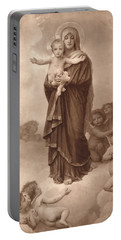 Our Lady Of The Angels Portable Battery Charger