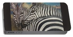 Our Stripes May Be Different But Our Hearts Beat As One Portable Battery Charger
