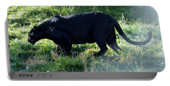 Out Of Africa  Black Panther Portable Battery Charger