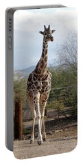 Out Of Africa  Giraffe 1 Portable Battery Charger