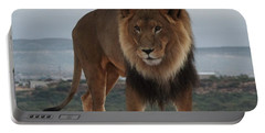 Out Of Africa Lion 3 Portable Battery Charger
