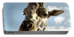 Out Of Africa  Reticulated Giraffe Portable Battery Charger