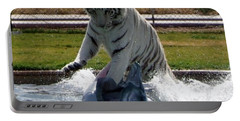 Out Of Africa Tiger Splash 1 Portable Battery Charger
