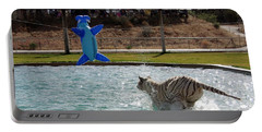 Out Of Africa Tiger Splash 3 Portable Battery Charger