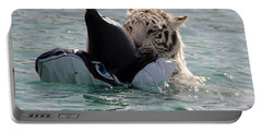 Out Of Africa Tiger Splash 4 Portable Battery Charger