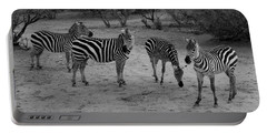 Out Of Africa  Zebras Portable Battery Charger
