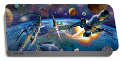 Outer Space Portable Battery Charger