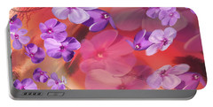 Portable Battery Charger featuring the painting Outside Inspirations by Janie Johnson