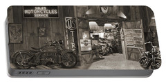Outside The Old Motorcycle Shop - Spia Portable Battery Charger