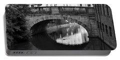 Oval Bridge Over The River Foss York Portable Battery Charger