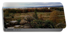Over The Battle Field Of Gettysburg Portable Battery Charger