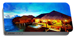Over Water Bungalows Portable Battery Charger